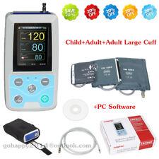 Contec ABPM50 Ambulatory Blood Pressure Monitor 3 cuffs PC software+USB line