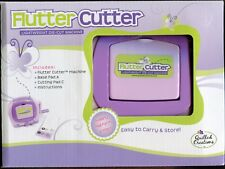 FLUTTER CUTTER DIE CUT Machine by Quilled Creations For THIN Dies + Bonus Pads