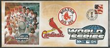 11018-37 EVENT COVER BOSTON RED SOX - ST LOUIS CARDINALS 2004 WORLD SERIES