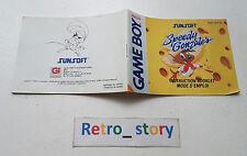 Nintendo Game Boy Speedy Gonzales Notice / Instruction Manual