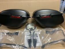 Harley Davidson Sportster Hard Saddlebag Kit Primed Lockable 91370-00