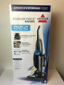 PowerForce Bagged Upright Vacuum Cleaner Home Floor Cleaning Dust Carpet Clean