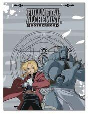 Fullmetal Alchemist Ed and Al Fleece Throw Blanket Anime Manga NEW
