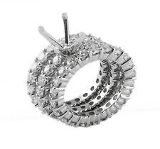 6.00Ct Round Natural Diamond Engagement Bridal Set F VS1 Wedding Ring Platinum