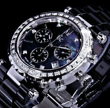 GC Guess Collection Keramik Damen Armband Uhr Schwarz Chronograph 42 Diamanten