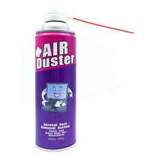 400ml Compressed Air Duster Can Cleaner For Notebook Laptop PC Keyboard AU
