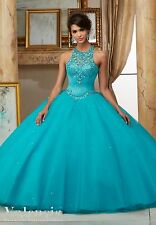 Custom Quinceanera Formal Dress Party Evening Ball Prom Dresses Wedding Gown