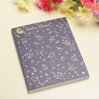 New Anime Sailor Moon Logo Crystal Cosplay Notebook Paper Memo Collection Diary