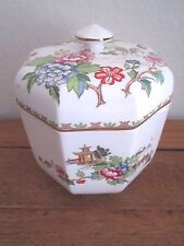 Rare Crown Staffordshire Pagoda 6 1/4