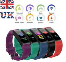 UK Fitness Smart Watch Band Sport Activity Tracker ADULT Kid Fitbit STEP COUNTER