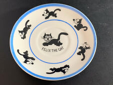 """Vintage Felix The Cat Saucer Plate Made In Germany 1925 - 5 1/4"""" - Rare"""