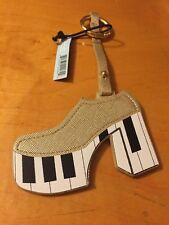 $18 Love Bravery Lady Gaga Elton John Platform Piano Shoe Keyring Fob