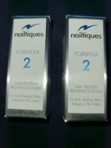 (2) Nailtiques Formula 2 Nail Protein