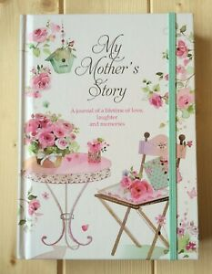 NEW MY MOTHERS STORY JOURNAL KEEPSAKE RECORD BOOK FAMILY HISTORY GIFT FOR MUM