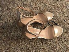 Madden Girl Women's Dress Sandal size 8 Rose gold
