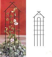 EcoTrellis Climbing Pot Flower House Shaped Garden Trellis Plant Support Fence