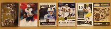 2016-17 Marcus Mariota 6 card Football card Lot 1 card #'d /50 Tennessee Titans
