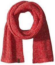 NWT True Religion True Red TR1985 Two Tone Knit Scarf Winter Warm