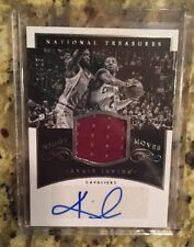 2014-15 National Treasures Kyrie Irving Auto Night Moves Jersey /25 Cavs Celtics