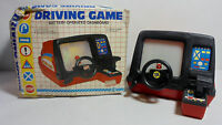 VTG 80's DRIVING GAME DASHBOARD B/O UNUSED MIP DOES NOT WORK BATTERY OPERATED