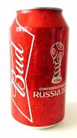 BUD beer can FIFA Confederations cup Russia 2017 750 ml NEW Limited Open bottom