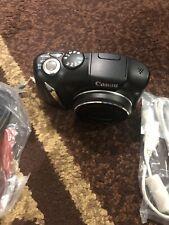 Canon PowerShot SX130 IS 12.1MP Digital Camera - Black