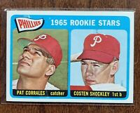 1965 TOPPS #107 Phillies Rookies Corrales & Shockley NM/MT - Centered