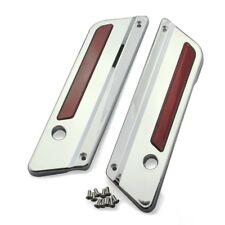 Coperchi Cerniere borse rigide per Harley Road King 94-13 cromo