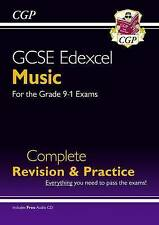 New GCSE Music Edexcel Complete Revision & Practice (with Audio CD) - For the Grade 9-1 Course by CGP Books (Paperback, 2016)