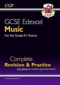 New GCSE Music Edexcel Complete Revision & Practice (with Audio CD) - For the...