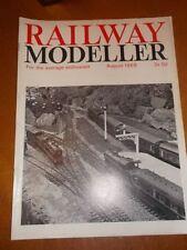 Railway Modeller August Rail Transportation Magazines