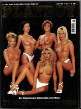 PLAYBOY D 1/1998 Januar - Verona Feldbusch + Alexandra Neldel + Kalender !
