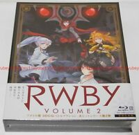 New RWBY Volume 2 First Limited Edition 2 Blu-ray 2 CD Booklet Japan 1000627043