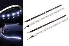 4X 30cm Wasserdicht 15 1210 SMD flexibel LEDs Streifen-Licht Lampen Weiss,DC 12V