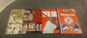 BOSTON RED SOX OFFICIAL YEARBOOK 1979 1981 1982 1983 & TEAM COLLECTION 1988