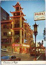 Chinatown at Night, San Francisco California