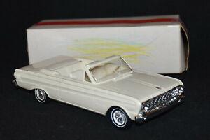1964 AMT Ford Falcon Convertible SUPER NICE AMT Promo Model With Original Box 64