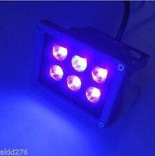 18W 6x3W LED UV BLACK LIGHT NEON FLUORESCENT DJ PARTY FLOOD LIGHT