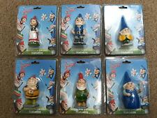 Gnomeo & Juliet Miniature Garden Statuette Official Merchandise Lot of 6 Sealed