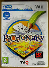 Videogame - Pictionary - UDraw - NINTENDO Wii NUOVO SIGILLATO EDIZIONE ITALIANA