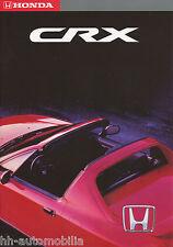 Honda CRX Prospekt 1993 2207121 brochure Autoprospekt Broschüre prospectus Auto