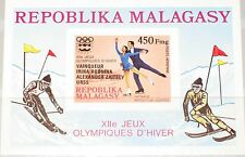 Madagascar MALAGASY 1976 bloc 13 B s/s c163 medal winner Olympics Innsbruck MNH