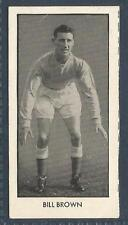 D C THOMSON-WORLD CUP FOOTBALLERS-1958-#15-DUNDEE & SCOTLAND-BILL BROWN