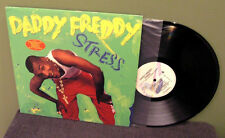 "Daddy Freddy ""Stress"" LP OOP Mad Cobra SuperCat Shabba Ranks NM"