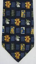 Custom Neckwear Mens Neck Tie Necktie Faces Phones Headset Flowers Teltrust