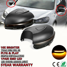 For VW Golf MK6 GTI 6 MKVI R20 Touran Dynamic Side Mirror LED Turn Signal Light