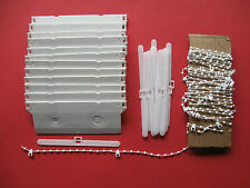 "5"" VERTICAL BLIND REPAIR KIT 12 WEIGHTS, HANGERS & BOTTOM CHAIN SPARES PARTS"