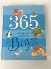 365 Animal Stories and Rhymes for Boys Children's Book