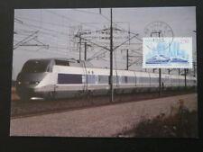 railroads speed train TGV maximum card 60084