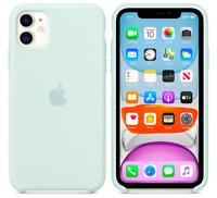 Meerschaum Apple Echt Original Silikon Schutz Hülle Case iPhone 11 6,1″